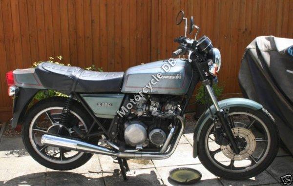 Kawasaki Z 550 LTD 1981 8174