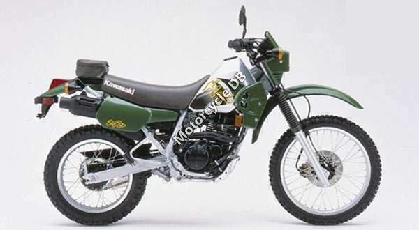 Kawasaki KLR 250 (reduced effect) 1986 14757