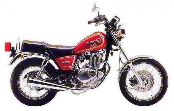 Suzuki GN 250 E 1988 1461