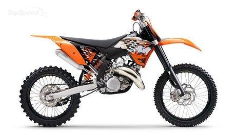KTM 125 EXC 2008 9675