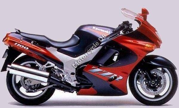 Kawasaki ZZR 1100 1993 10701