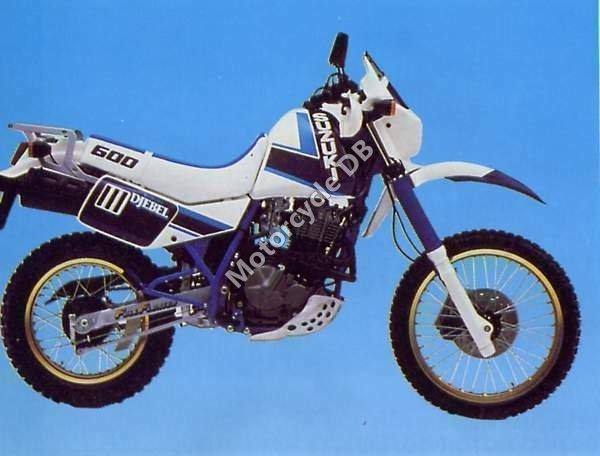 Suzuki DR 600 R Dakar 1988 1443