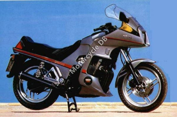 Yamaha XJ 650 (reduced effect) 1984 19780