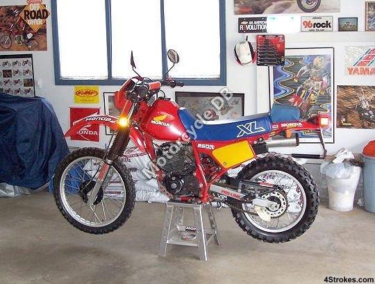 Honda XL 250 R 1984 9015
