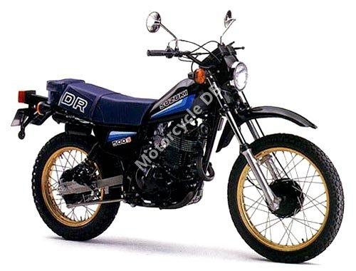 Suzuki DR 500 S 1982 7038