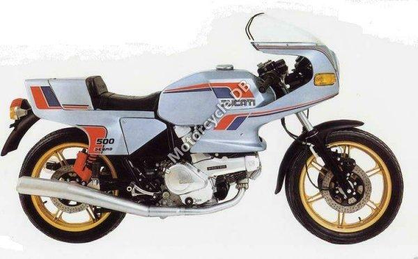 Ducati 500 SL Pantah 1983 1181