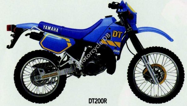 Yamaha DT200R 1991 1536