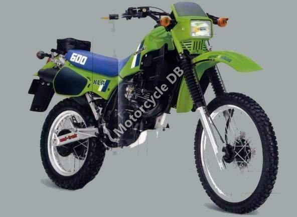 Kawasaki KLR 600 E 1990 15470