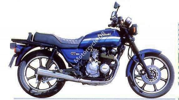 Kawasaki Z 550 GT 1990 10799