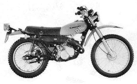 Kawasaki KE 125 1983 12245