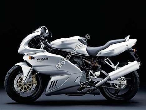 Ducati 620 Sport Half-fairing (reduced effect) 2003 9542