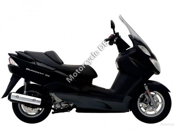 Suzuki Burgman 125 2012 22125