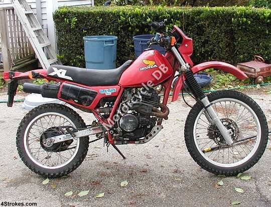Honda XL 350 R 1984 8556 Thumb
