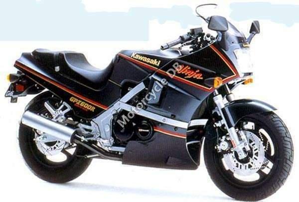 Kawasaki GPZ 600 R 1987 15005
