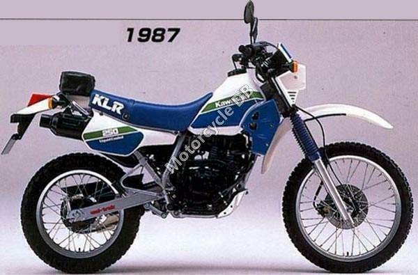 Kawasaki KLR 250 1987 1658