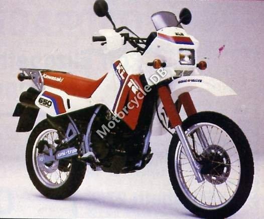Kawasaki KLR 650 1987 13942