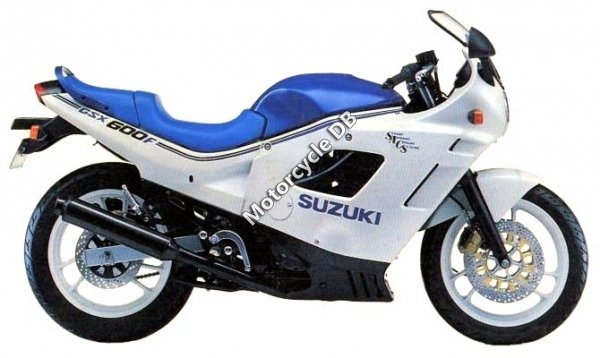Suzuki GSX 600 F (reduced effect) 1992 11677
