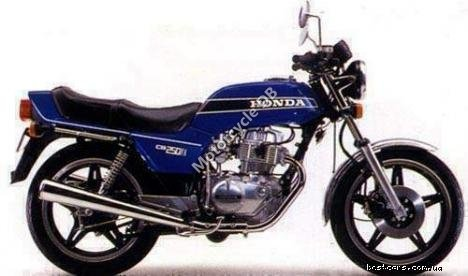 Honda CB 250 RS (reduced effect) 1982 8705