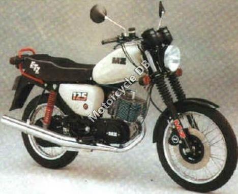 MuZ ETZ 251 (with sidecar) 1991 16178