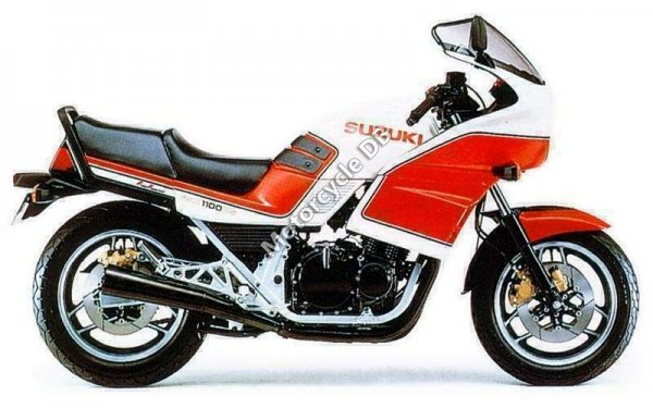Suzuki GSX 1100 EF (reduced effect) 1987 19520