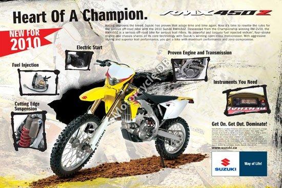 Suzuki RMX450Z 2010 4410