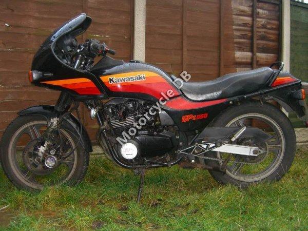Kawasaki GPZ 550 1988 7582