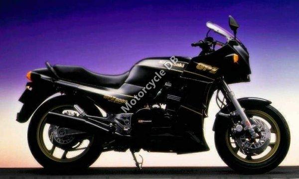 Kawasaki GPZ 550 (reduced effect) 1990 17837