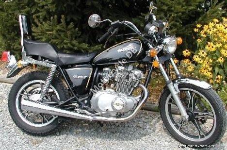 Suzuki GS 450 L (reduced effect) 1981 16037
