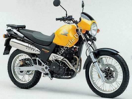 Honda Vigor 650 2002 14202