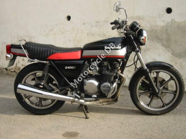Kawasaki Z 400 J 1981 8197