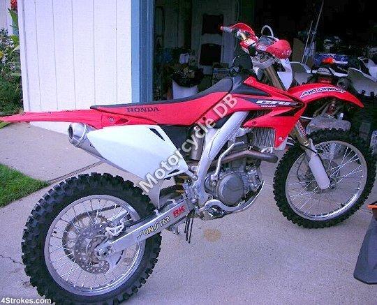Honda CRF 450 X 2007 16429