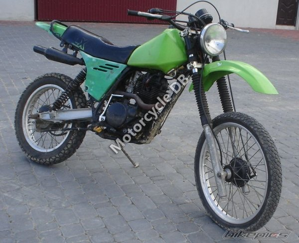Kawasaki KLX 250 1983 8893