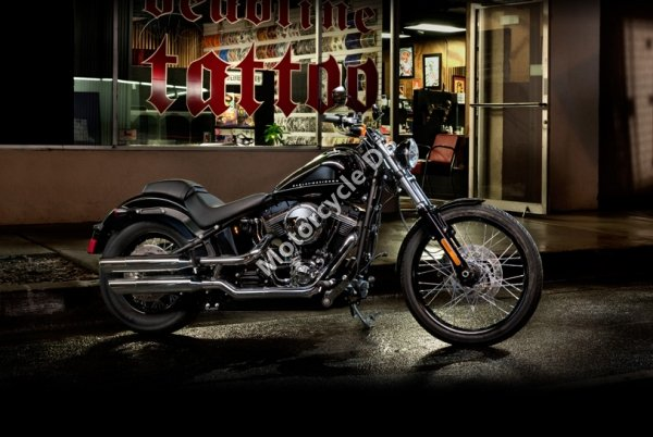 Harley-Davidson Softail Blackline Dark Custom 2013 22747