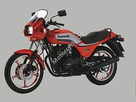 Kawasaki GPZ 305 Belt Drive 1984 10577