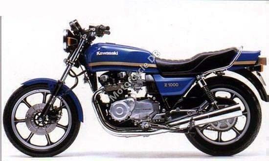 Kawasaki Z 1000 J 1982 7636