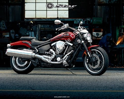 Yamaha Road Star 2008 2921