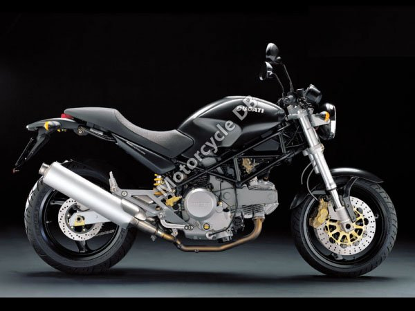 Ducati Monster 620 i.e. Dark Single Disc 2004 10424