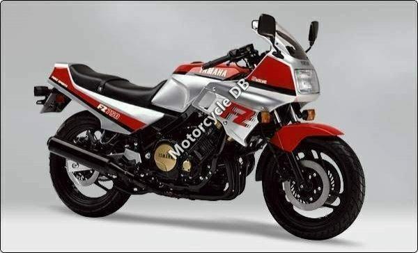 Yamaha FZ 750 (reduced effect) 1985 12448