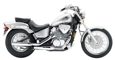 Honda Shadow VLX Deluxe 2006 5252