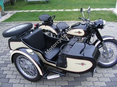 Ural M-63 (with sidecar) 1980 19265