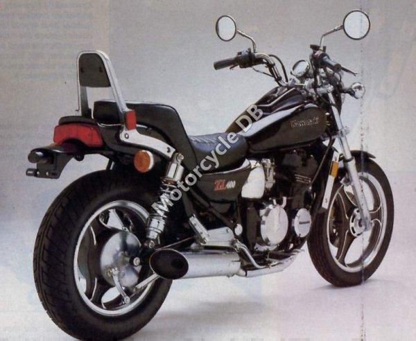Kawasaki ZL 400 Eliminator 1986 7962