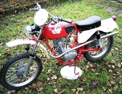Moto Morini 125 KJ Kanguro (1985)