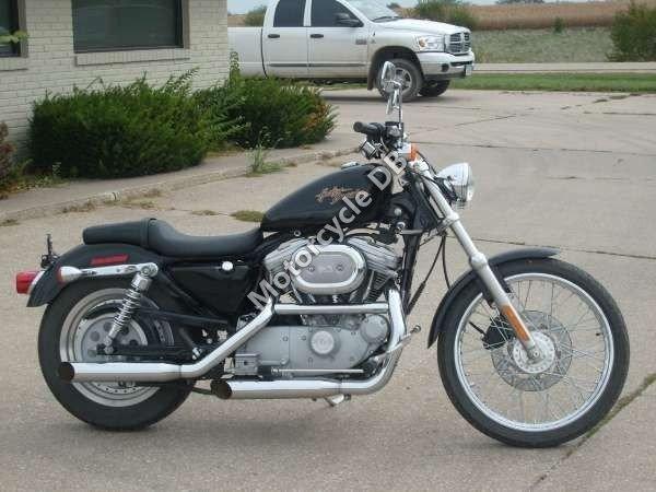 Harley-Davidson  XL883C  Sportster Custom 2007 12128