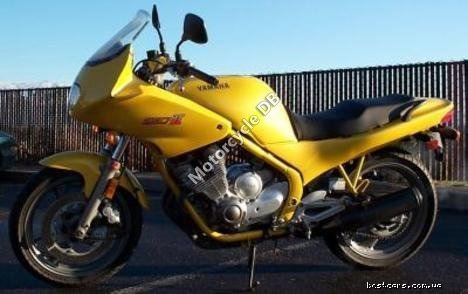 Yamaha XJ 600 (reduced effect) 1989 11588