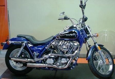 Harley-Davidson FXRT 1340 Sort Glide 1992 18429