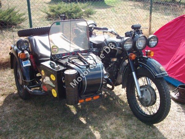 Dnepr MT 16 (with sidecar) 1991 12115