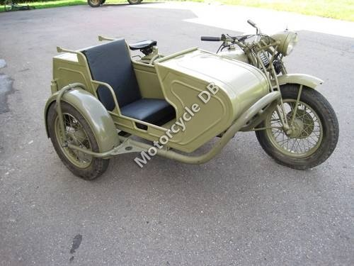 Dnepr MT 16 (with sidecar) 1986 18015 Thumb