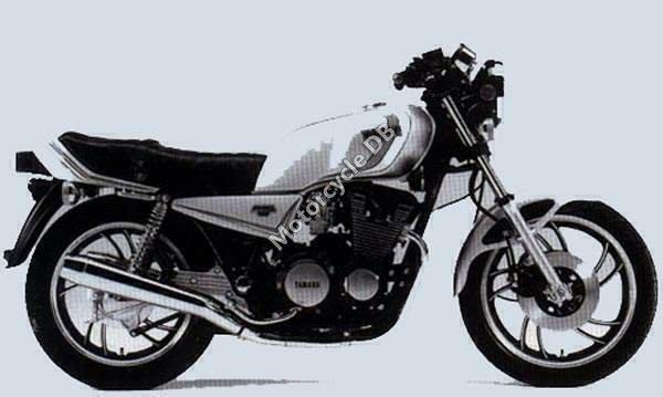 Yamaha XJ 650 (reduced effect) 1983 20954