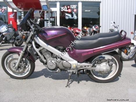 Honda NTV 650 Revere (reduced effect) 1989 12536