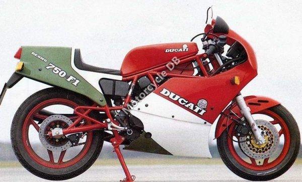 Ducati 750 F 1 1986 1186